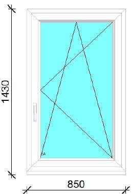 120x150 műanyag ablak ára